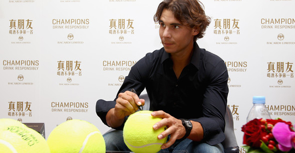 Nadal is one of the biggest tennis players ever