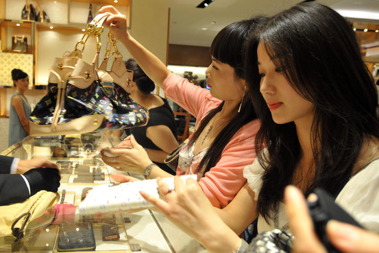 shopping chinese travel luxury